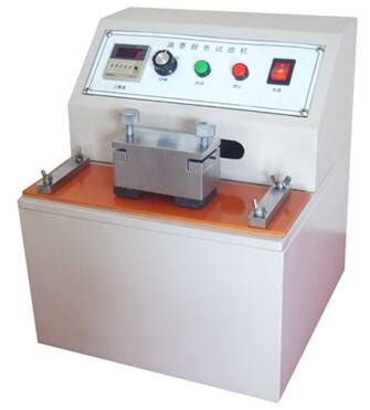 印刷品油墨涂层脱色耐摩擦试验机